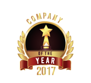 2017 Company of the Year Award from The Technology Headlines