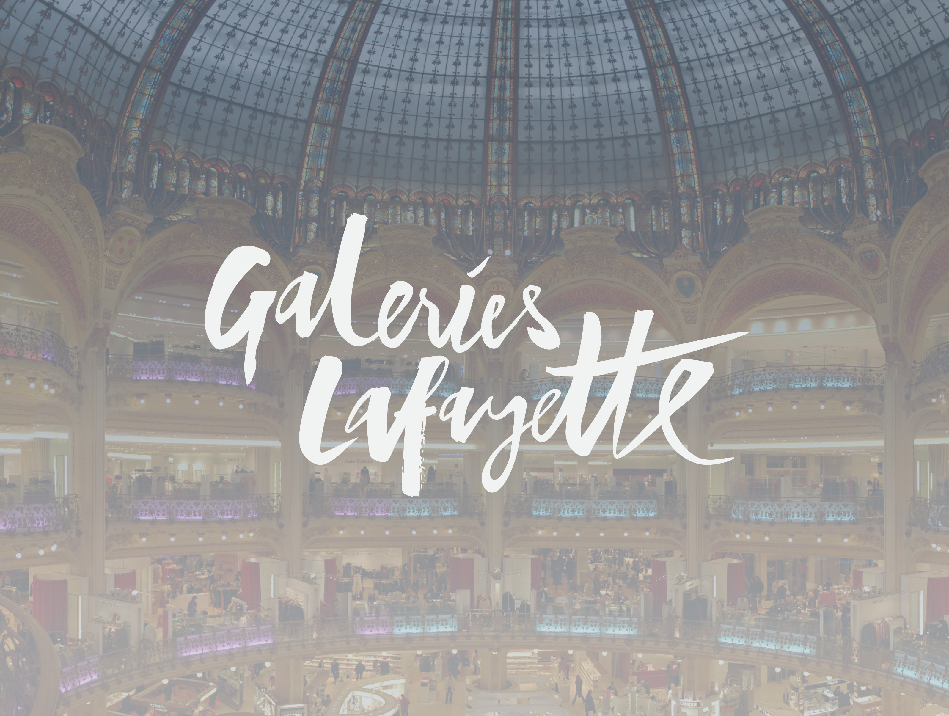 Galeries Lafayette-Customer Pages