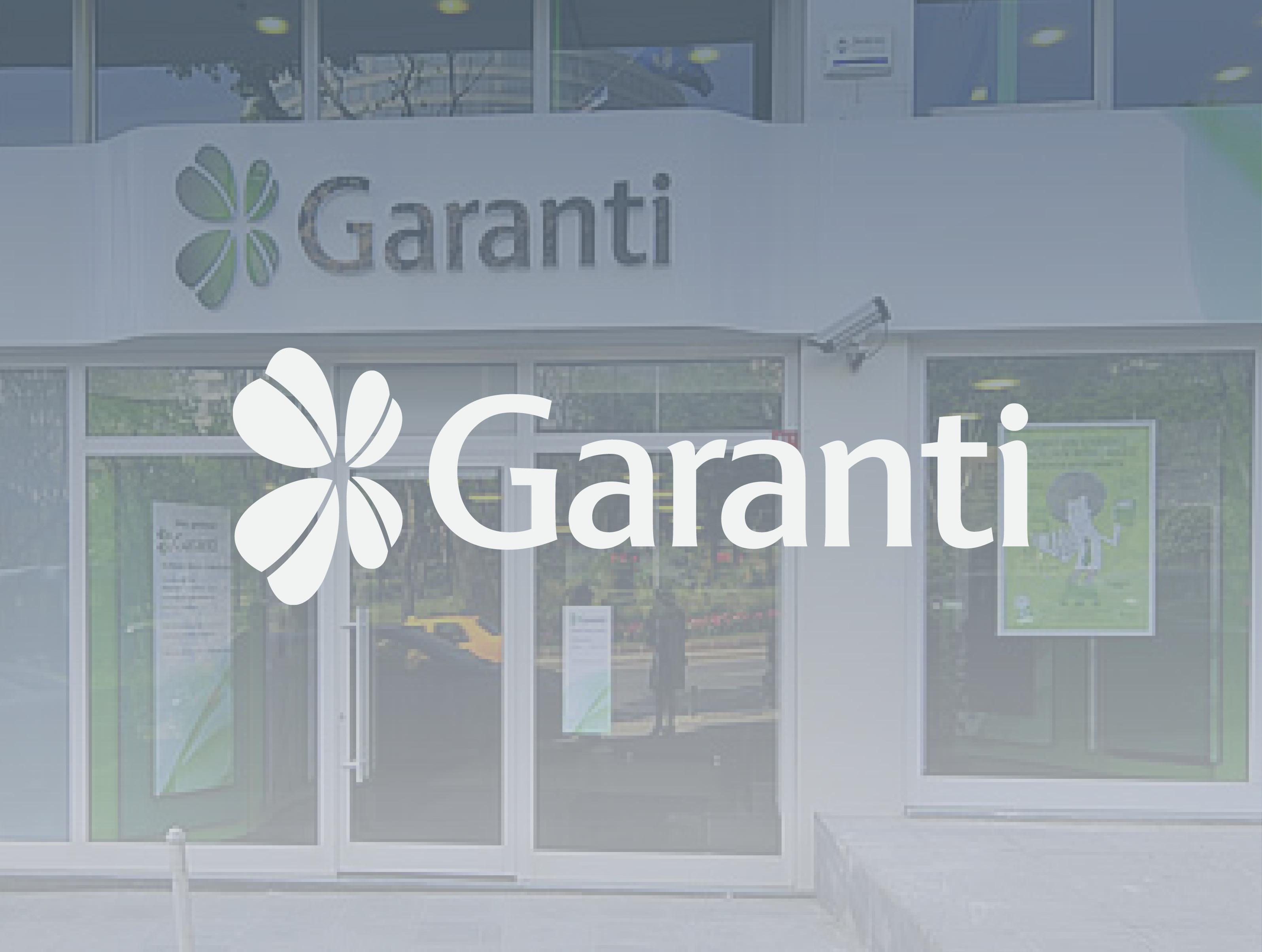 Garanti-Customer Pages
