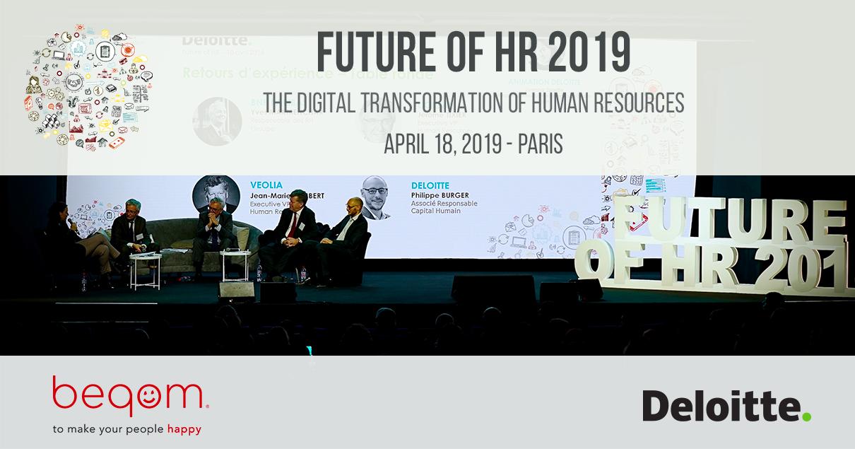 Future of HR 2019 Deloitte Paris
