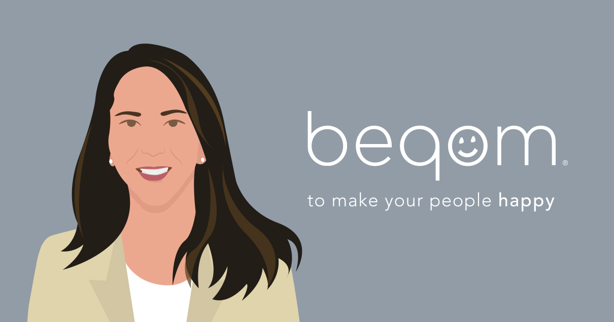 Katherine Porras head of customer success at beqom